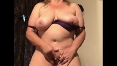 Filthy Wife Jerking While Standing – Real Orgasm Homemade