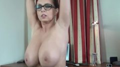 Huge Tits, Masturbation, Female Orgasm, All Natural