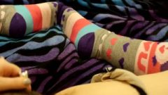 Hairy Teen Rubber Toy On Clit In Knee Socks Female POV