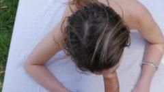 PASSION-HD Outdoor Massage Fuck With Brunette Kristen Scott
