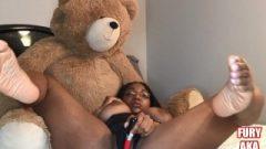 Bedroom Boom: Huge Boobs & Major Spurting Followed By Hardcore Orgasm