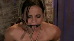 Mackenzee Pierce – Roped Up In A Chair With A Rubber Toy