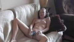 Girlsifound: Nerdy Young April Masturbates Before Eating Dick Off An Older Dude